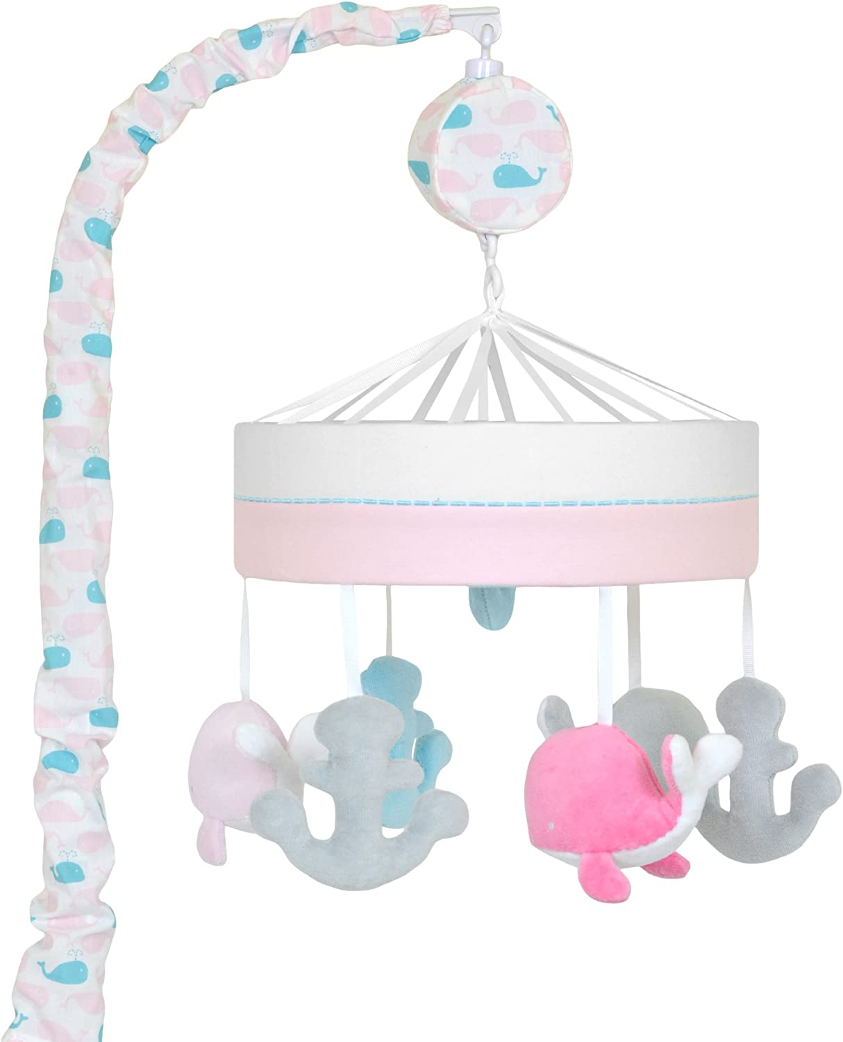 Just Born Sail Into Your Dreams Musical Mobile Pink