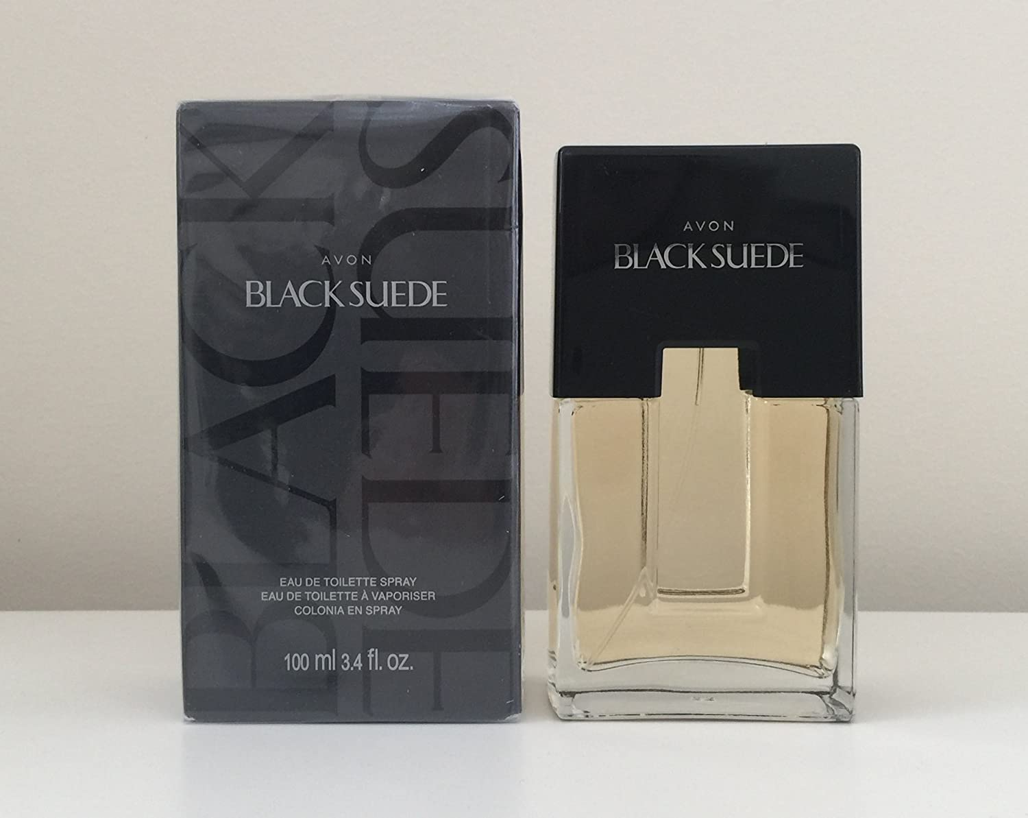 Avon BLACK SUEDE Cologne Spray 100ml./ 3.4oz