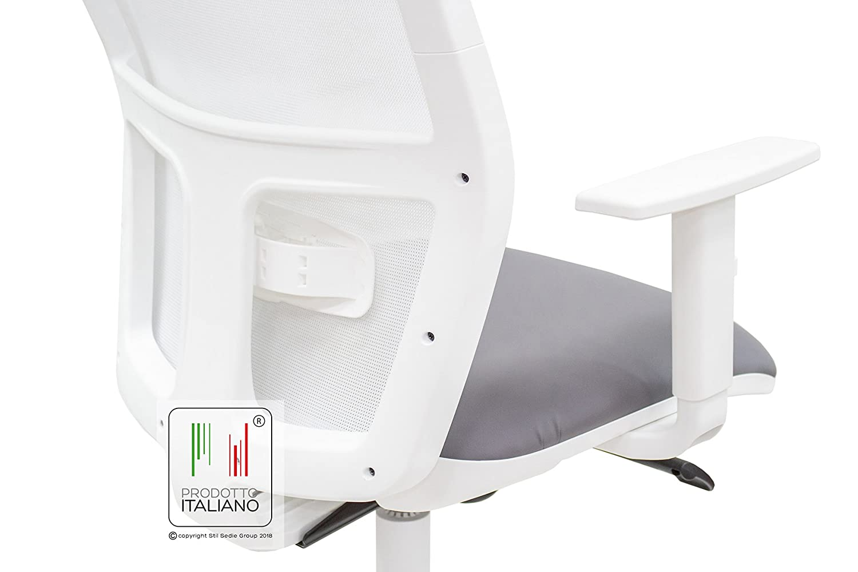 Stil sedie poltrona sedia ufficio girevole mesh ecopelle