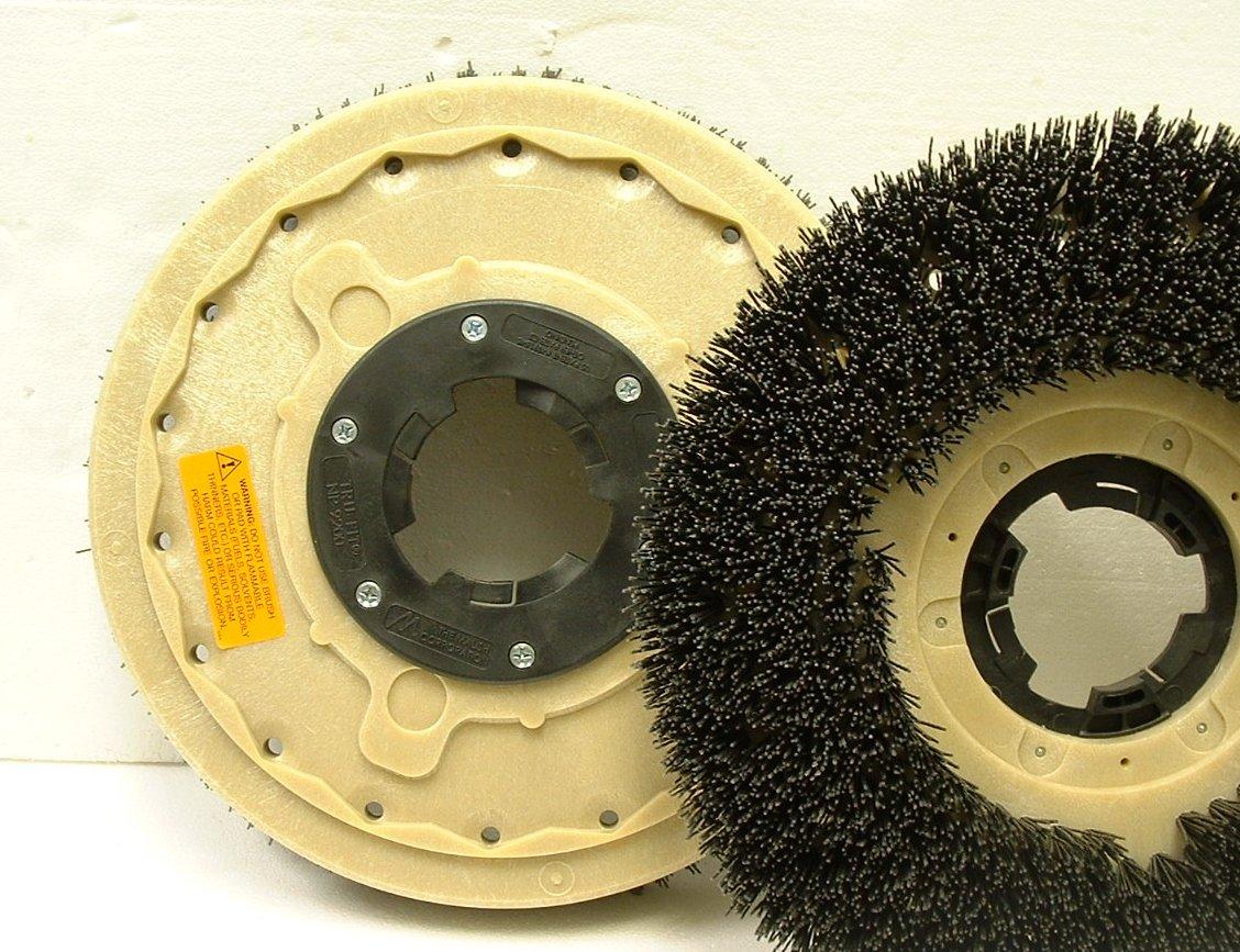 17 Machine Grit stripping brush w/plate 15GX92 The Malish Corp 813215