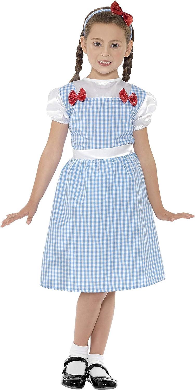 Smiffys-41102M Miffy Disfraz de Chica de Campo, Vestido y ...