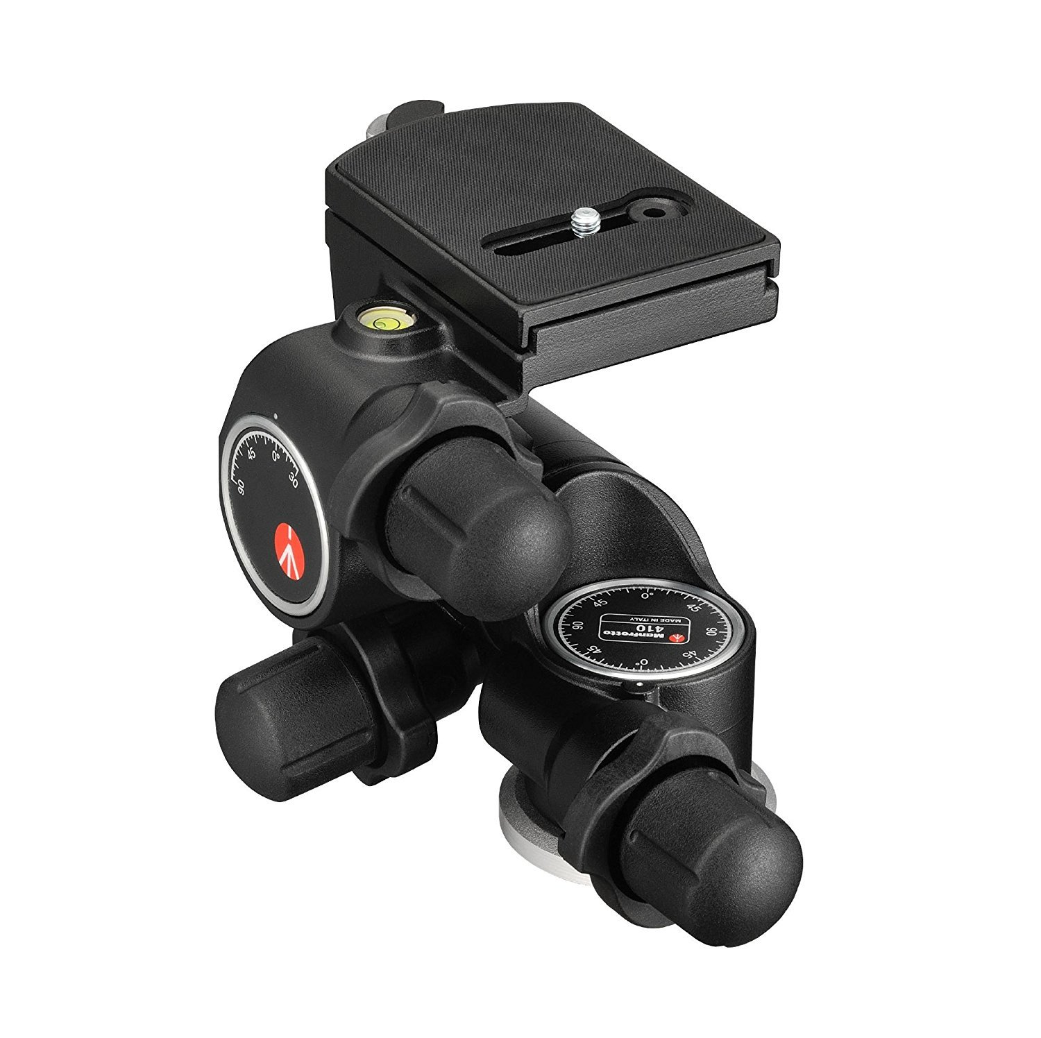 Manfrotto 410 Junior Geared Tripod Head with Quick Release and a Bonus Ivation Quick Release Plate by Manfrotto (Image #6)