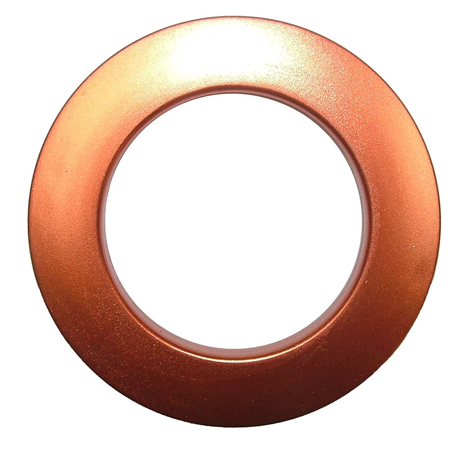 1, Copper Ideal For 16mm 19mm 25mm 28mm Diameter Poles Eyelet Curtain Fabric Rings