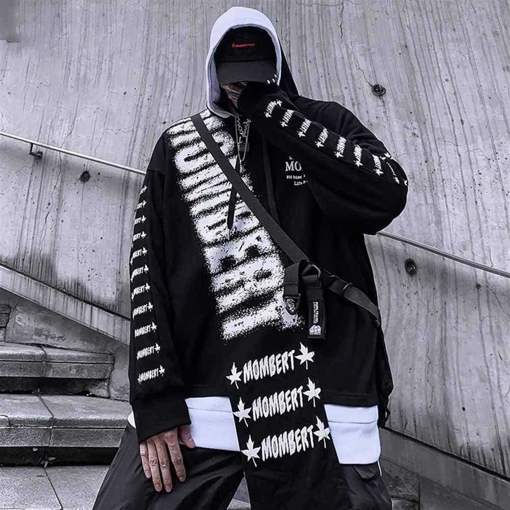 Giacca Militare da Uomo Cardigan Cappotto Sportiva Casual personalit/à Moda Hip Hop Adolescente Pullover Sportiva Manica Lunga Camicia Maglia Autunno Inverno Abbigliamento Casual Sport Outwear Cappotto