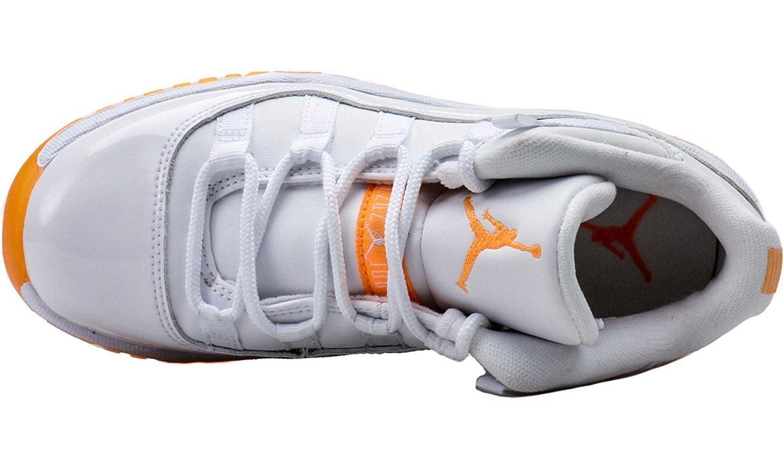 67cdd5e908 Amazon.com: Jordan Nike Air 11 Low P.S Little Kids White Citrus 580522-139  US 1.5Y: Sports & Outdoors
