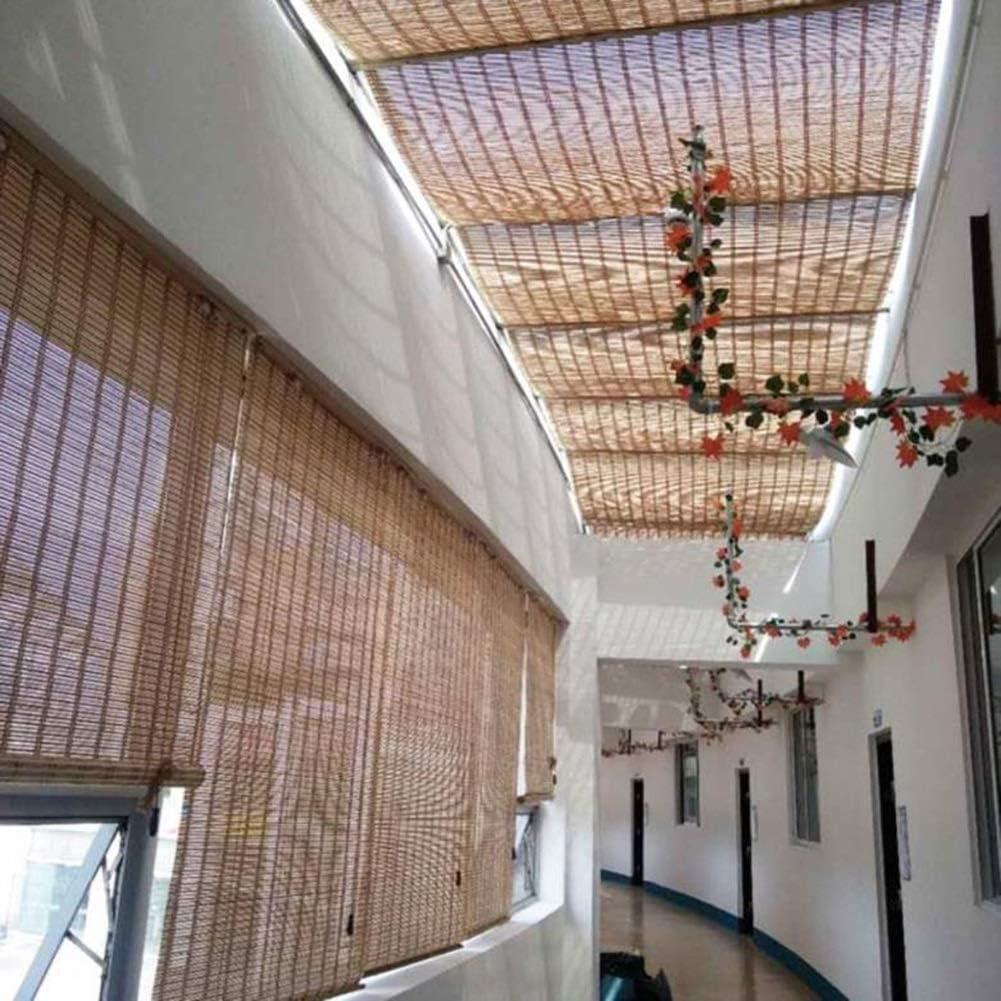 FF Estores enrollables Persianas Exteriores Enrollables para Persianas Perze Gazebo Deck Back Yard, Persianas Verticales con Gancho, 85/105/125 / 145cm De Ancho (Size : 105×240cm): Amazon.es: Hogar