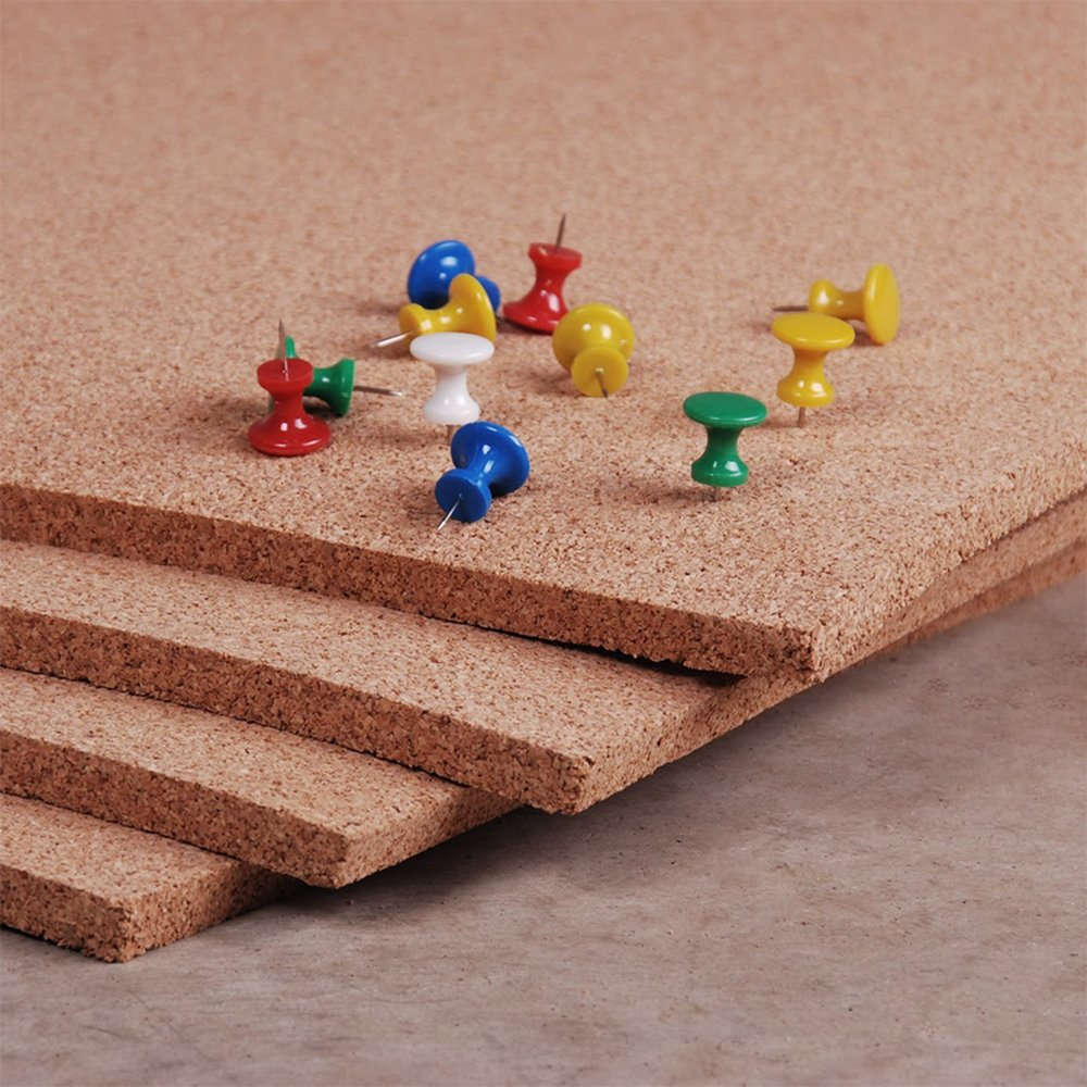 Manton Cork Sheet, 100% Natural, 4' x 4' x 1/2 - Thickest available 412004-S