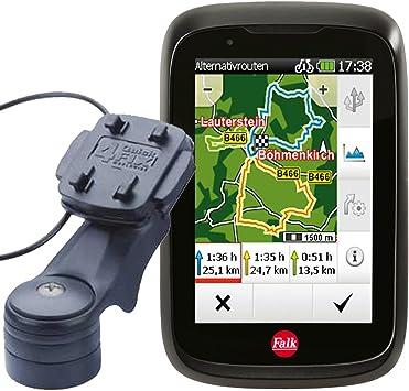 Falk exterior de GPS Tiger Pro + Soporte para bicicleta con ...