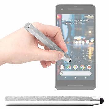 DURAGADGET Lápiz Stylus Gris para Smartphone Smartphone Google ...