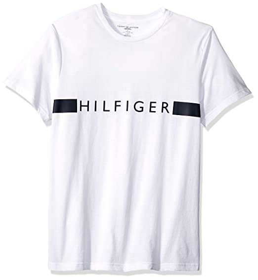 Tommy Hilfiger Men's Jersey Sleep Lounge Crew Neck T Shirt by Tommy Hilfiger