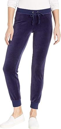 Juicy Couture Women s Zuma Velour Pants Royal Navy X-Large 29 ... 83bd23ba6