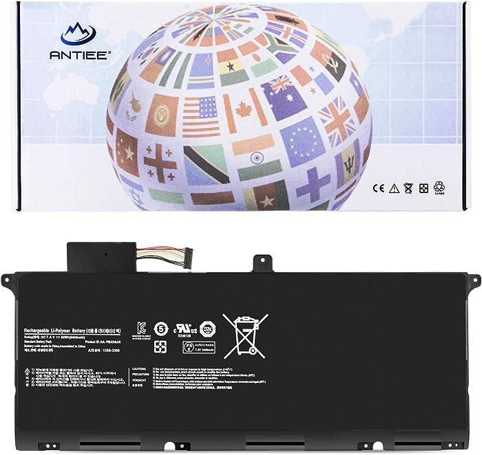 ANTIEE 62Wh AA-PBXN8AR Laptop Battery for Samsung 9 Series 900X4 NP900X4 NP900X4B NP900X4C NP900X4D 900X46 900X4B 900X4C 900X4D A01DE A02CN A02DE A02US A03CA A03US A04DE A04US A05AU A06DE A06US A07US