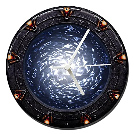 MasTazas Stargate SG-1 SG1 A Reloj de Pared Wall Clock 20cm
