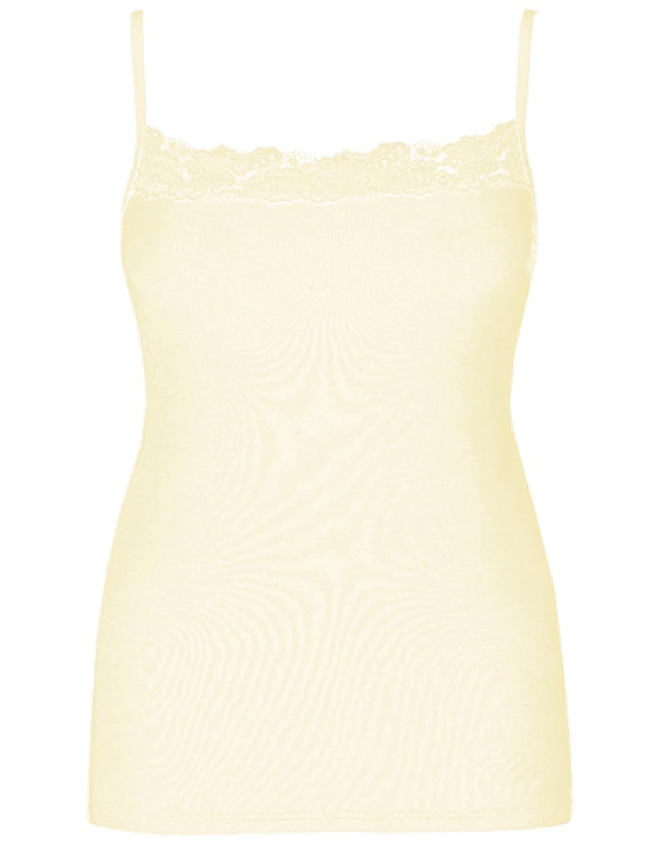 Ex Store Cool Cotton Rich Lace Trim S-t-r-e-t-c-h Vest Camisole