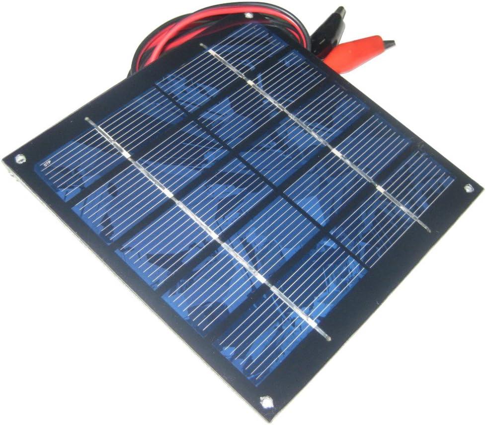 Sunnytech 1.25w 5v 250ma Mini Small Solar Panel Module DIY Polysilicon Solar Epoxy Cell Charger B019