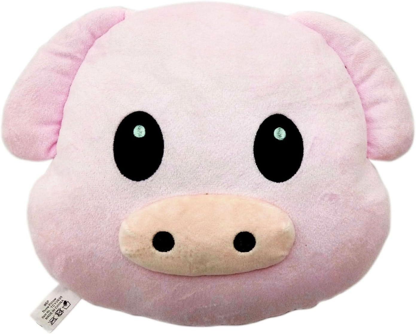 Pink Poop Emoji Pillow Emoticon Princess Cushion Soft Plush Toy Doll