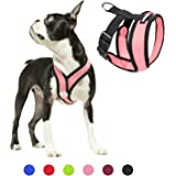 Gooby Dog Harness - Comfort X Head-in Small Dog Harness with Patented Choke-Free X Frame - Perfect on The Go No Pull…