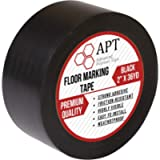APT, PVC Marking Tape, Premium Vinyl Safety Marking and Dance Floor Splicing Tape, 6 mil Thick, 2'' Width X 36 Yds…
