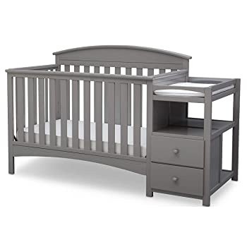 Delta Children Abby Convertible Baby Crib and Changer