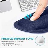 TeckNet Ergonomic Gaming Office Mouse Pad Mat