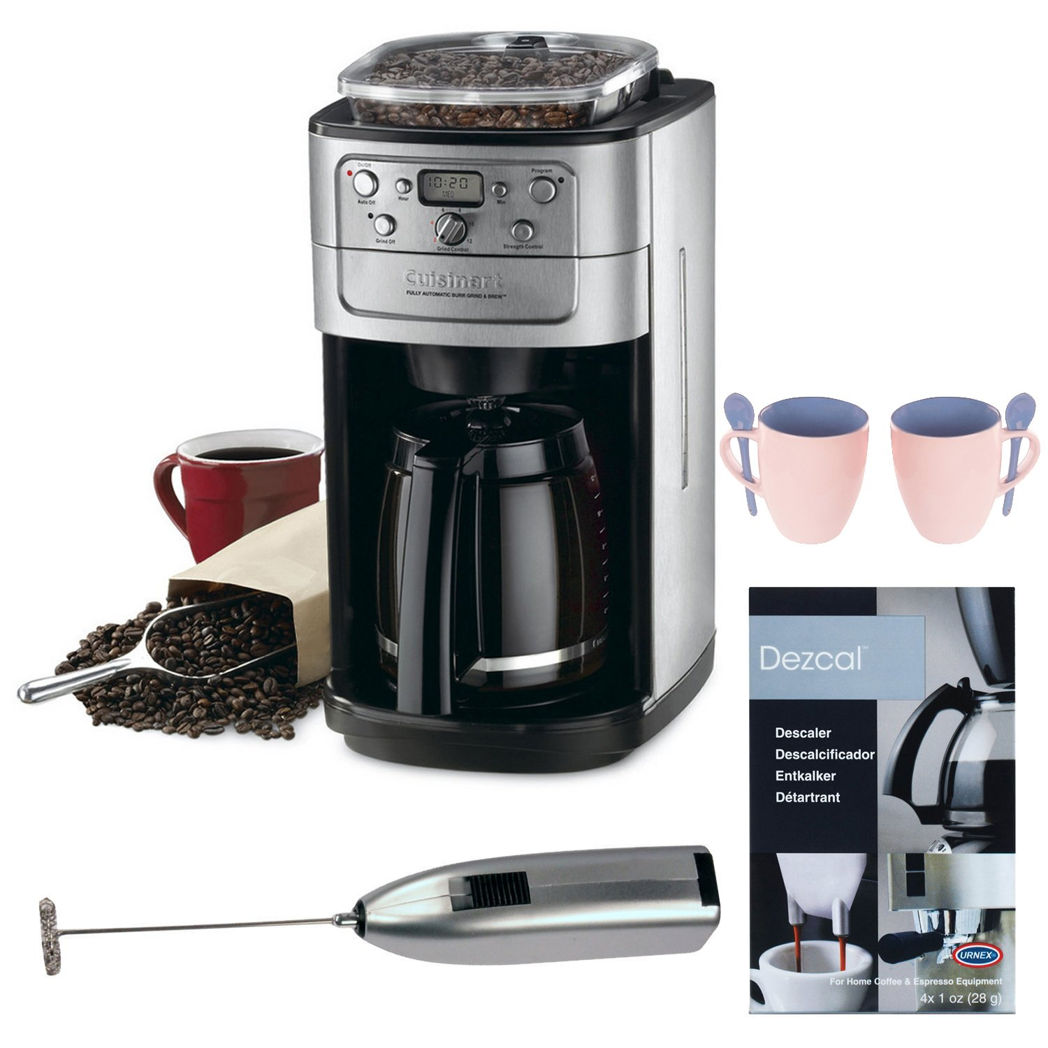 Amazon.com: Cuisinart dgb-700bc grind-and-brew 12-cup ...
