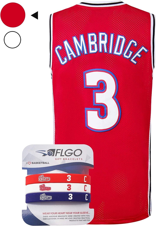 AFLGO Calvin Cambridge # 3 LA Knights - Camiseta de Baloncesto S ...
