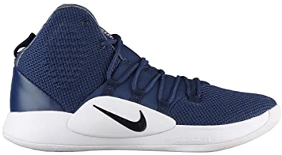 in stock e4827 89c80 Nike Hyperdunk X TB, Sneakers Basses Homme, Multicolore (Midnight  Navy/Black/