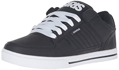 Osiris Men's Protocol Skateboarding Shoe, Black/White/Black, ...