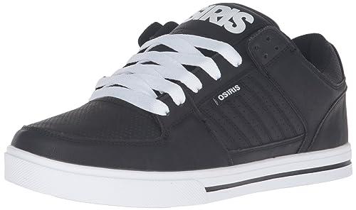 f9c28141b1 Osiris Men's Protocol Skateboarding Shoe, Black/White/Black, 7.5 M ...