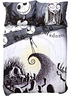 Amazon.com: The Nightmare Before Christmas Sheet Set Full Size ~ 4 ...