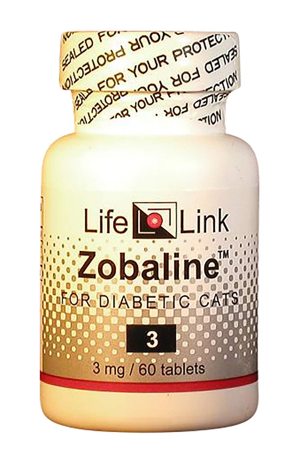 LifeLink's Zobaline for Felines 3mg x 60 Tablets