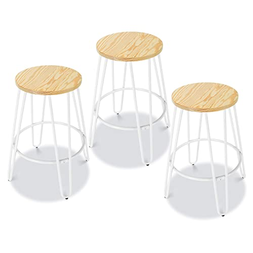 Winsome 94089 Satori Stool, 29 , Walnut Pack of 2