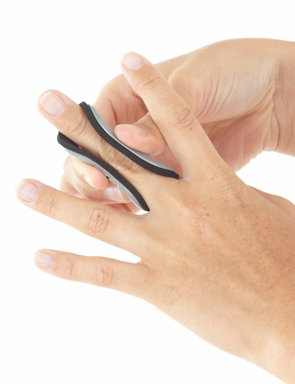Amazon.com: NEO G Easy-Fit Finger Splint - MEDIUM - Medical Grade ...