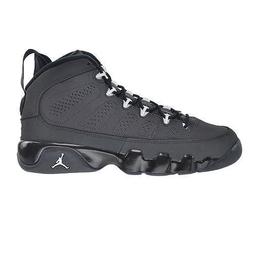 e605e5564444 Nike Air Jordan 9 Retro BG anthracite Black White 302359-013  Amazon ...
