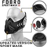 FDBRO sports mask high Altitude Elevation Simulation-Running、Cycling、Cardio、Fitness、Endurance Training Hypoxic Resistance Mask Six gear adjustment system