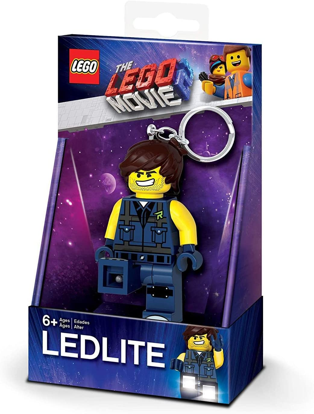 LEGO Lights IQLGL-KE152 Movie 2, Azul lámpara de Mesa: Amazon.es ...