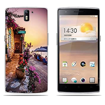 DIKAS Funda para OnePlus One, Silicona Funda Slim Fit Gel Transparente Carcasa Case Bumper de Impactos y Anti-Arañazos Espalda Cover para OnePlus One