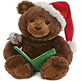 GUND Animated Storytime Bear Holiday Plush Stuffed Animal Sound and Movement, 11""