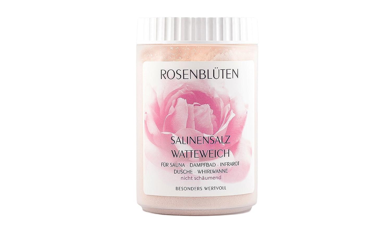 Saunasalz Salinensalz 'Rosenblü ten' - watteweich Schneider