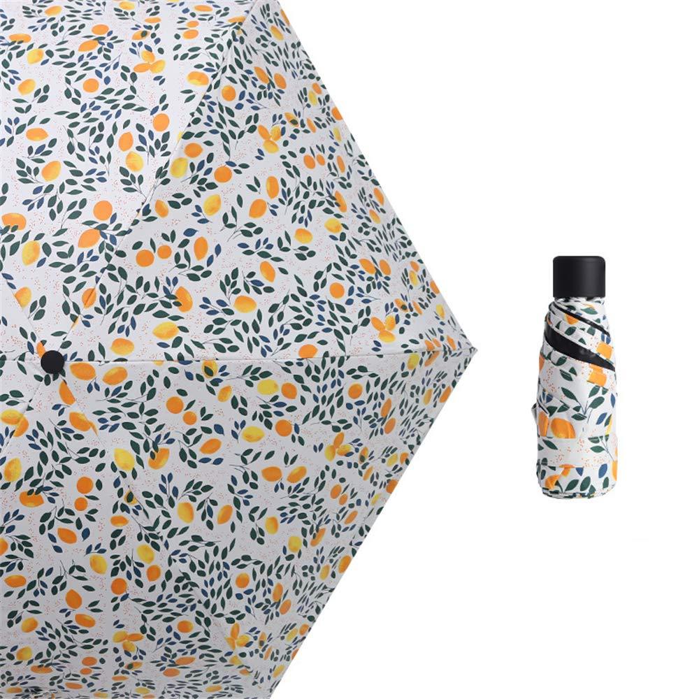 JUNDY Paraguas Plegable Mini Paraguas Ultraligero Resistente al ...