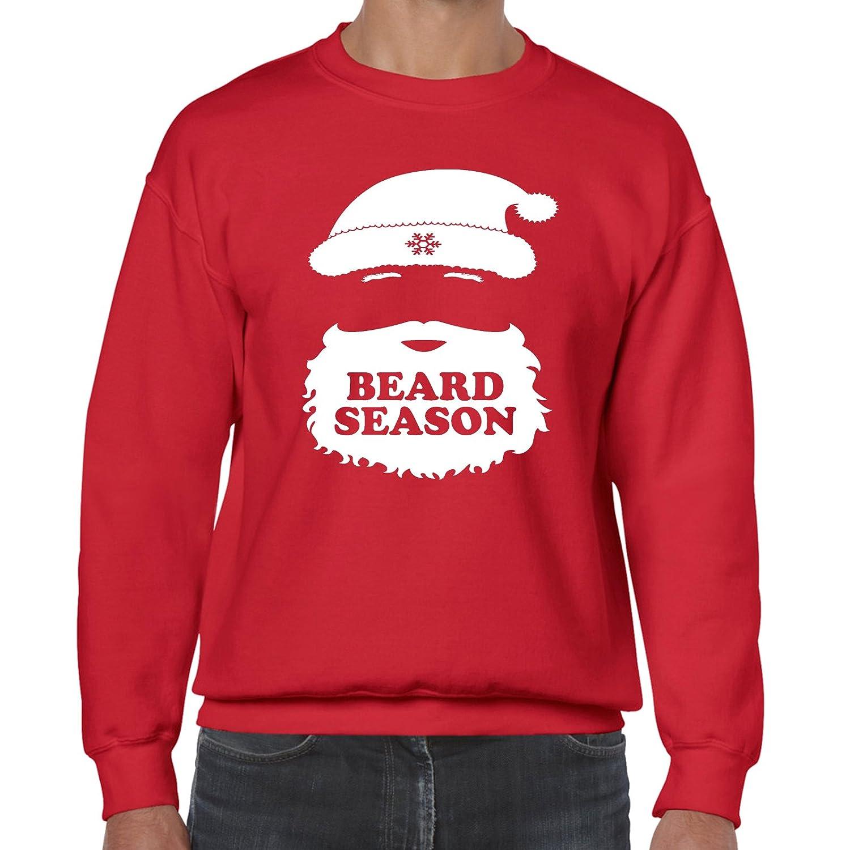grabmybits - Beard Season Christmas Sweatshirt Jumper GB002871