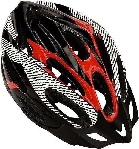Dilwe Casco de bicicleta, 3 colores, ligero casco de bicicleta de ...