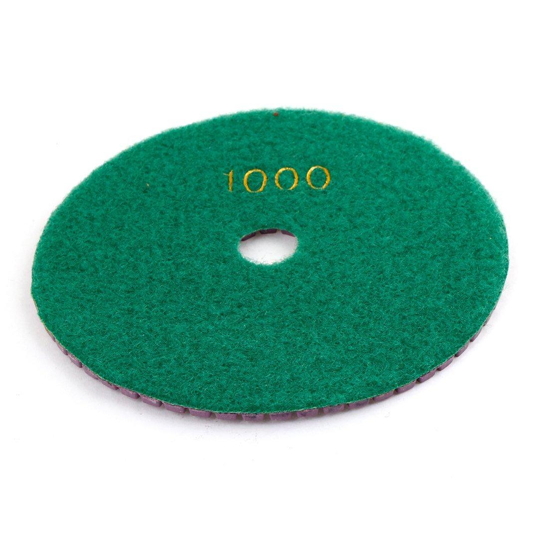 Grinder en marbre a13112000ux0384 diamant Polissage Pad, 1.6x12.5x0.5cm, Vert Violet