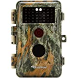 """BlazeVideo 16MP 1080P Wildlife Camera for Hunting Trail Scouting, Animals and Plants Surveillance Cam, F=2.0, 38 IR LEDs and Pir Lens, Motion detective night vision, 2.4"""" TFT Screen to View Picture and Video"""