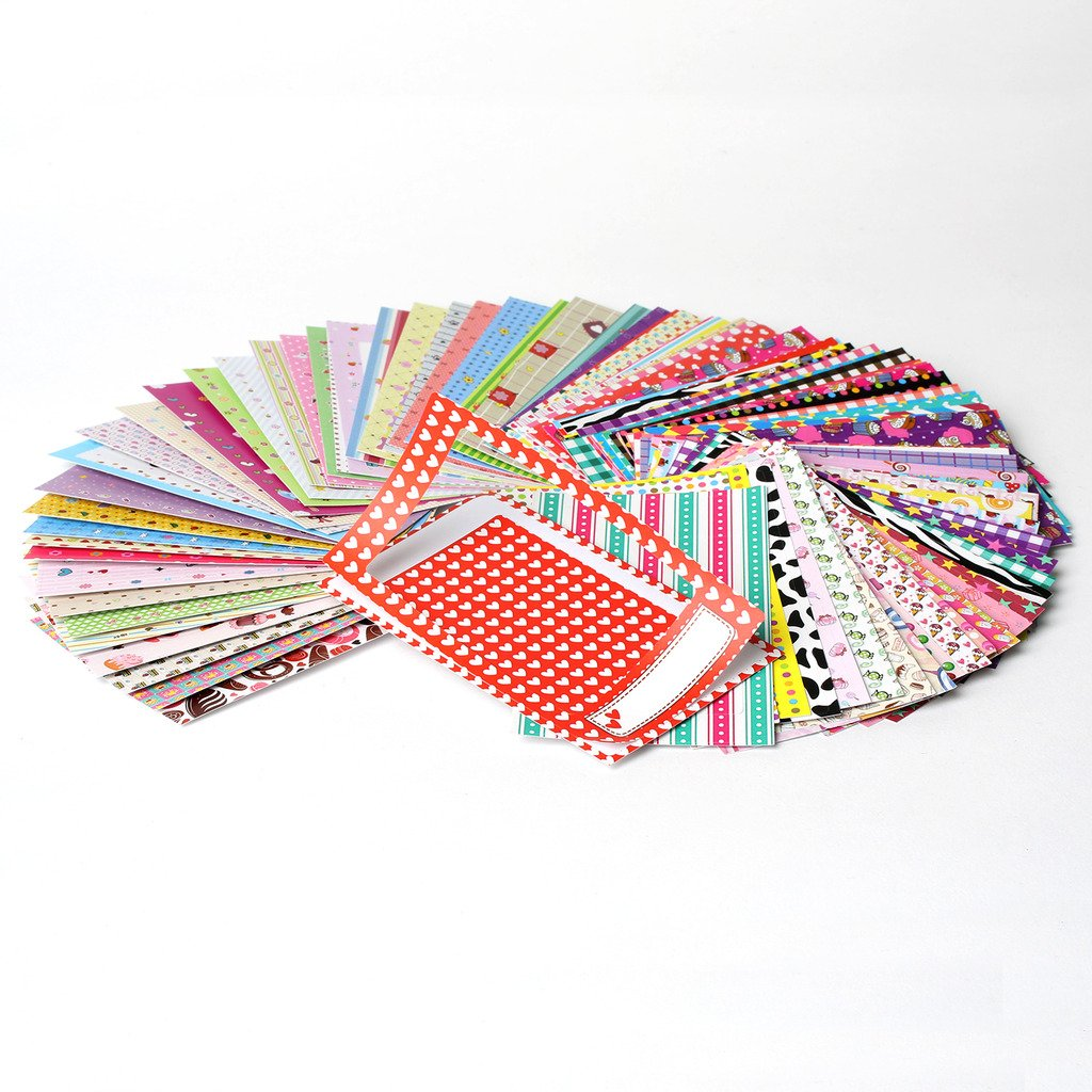 Colorful Fun /& Decorative Photo Border Stickers For Kodak Mini Instant Printer Picture Projects Pack of 100