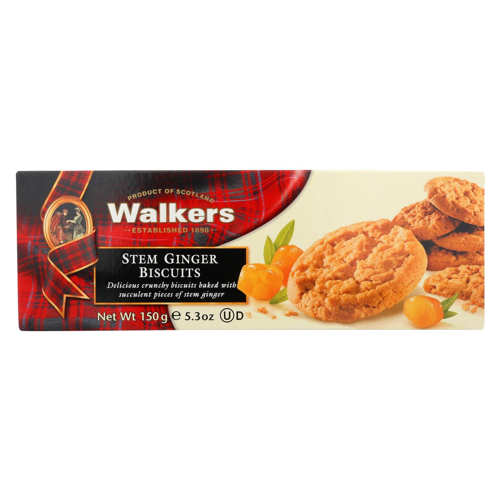 Walkers Cookie Stem Ginger, 5.3 oz
