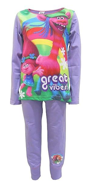 Trolls Pijamas Niñas 110cm / 4-5 Años