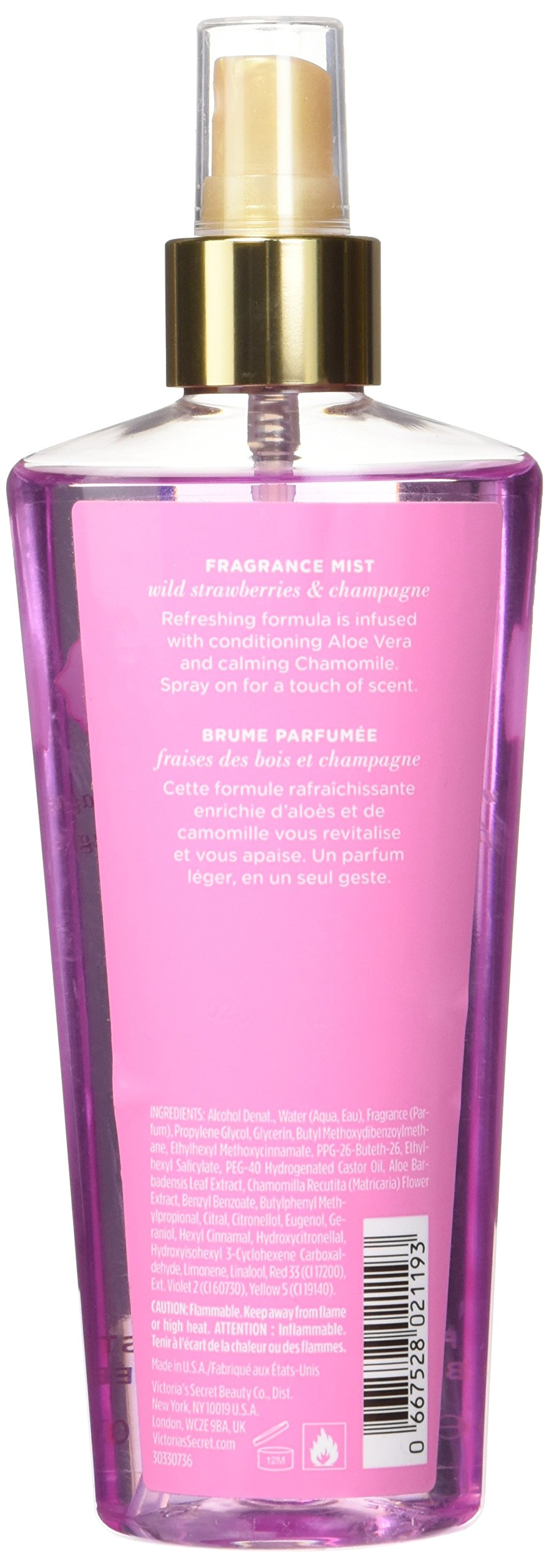 Victoria's Secret Fragrance Spray, Strawberries/Champagne, 8.4 Ounce