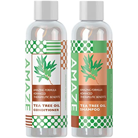 Amaze Tea Tree Oil Shampoo and Conditioner