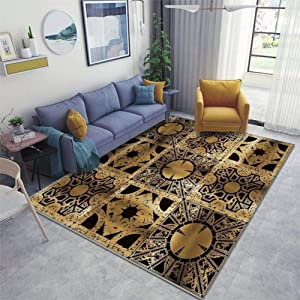Lament Configuration Side A Area Rugs Non-Slip Floor Mat Doormats Home Runner Rug Carpet for Bedroom Indoor Outdoor Kids Play Mat Nursery Throw Rugs Yoga Mat